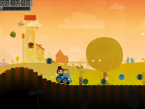 Bumpy Road by Simogo screenshot
