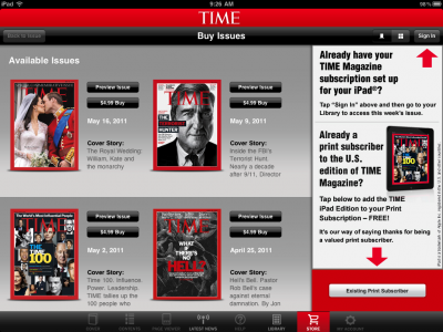 Apple Blinks On New Subscription Terms With Time Inc.