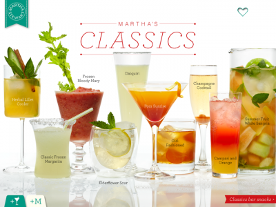 Getting Hot Out There? Martha Stewart Cocktails Is What You Need To Beat The Heat
