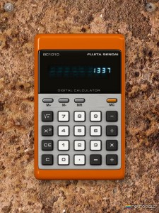 """RetroCalc"" Is A Doff Of The Cap To Old Ones And Zeros"