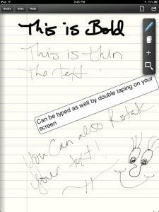 Pen and Paper by Vivid Apps screenshot