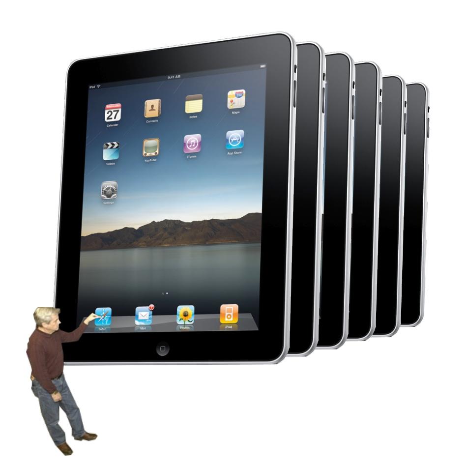 26 Years Later, iPad 2 Mirrors Cray's Glory Days