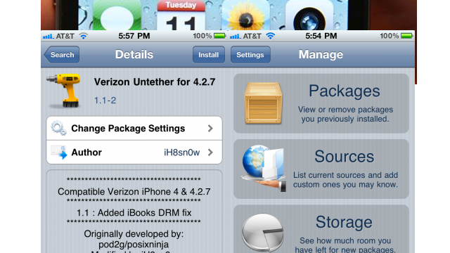 Jailbreakers Show Verizon iPhone Owners Some Love
