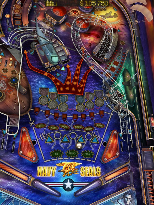Gameprom Adds Game Center To Their Military-Themed Pinball Game