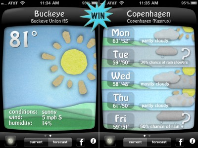 A Chance To Win A Weather Doodle (Universal) Promo Code With A Retweet Or Comment