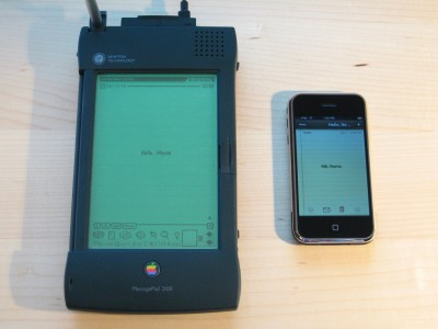 Apple's Newton OS Presaged Many iDevice Capabilities, Isn't Technically Comparable