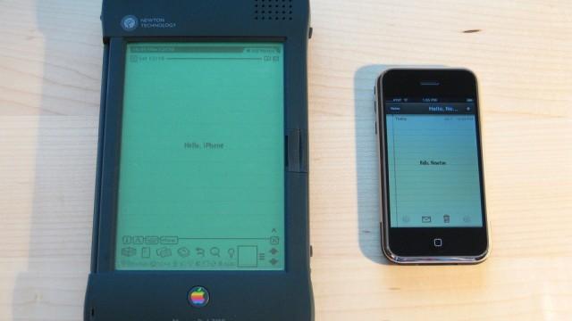 Apple's Newton OS Presaged Many iDevice Capabilities, Isn't Technically Comparable