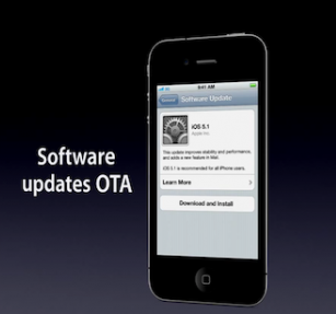 Now iOS 5 Can Update Over 3G
