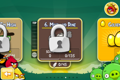 "Angry Birds Updated: ""Mine & Dine"" - Cave Theme, 15 New Levels"