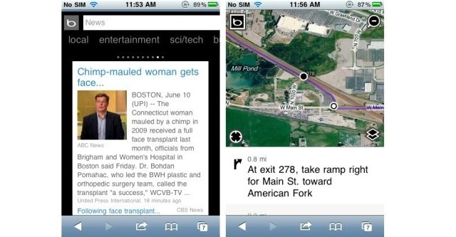 Bing Mobile Gets Another Update, Adds Many Improvements