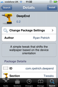 Jailbreak Only: DeepEnd - Make Your iPhone's Display 3-D For Free