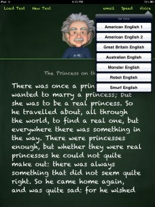 Animatronic Einstein Reads Practically Any English Text