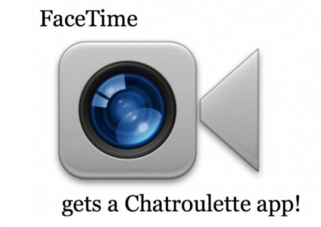 Facekandi: A FaceTime Chatroulette App For iPhone
