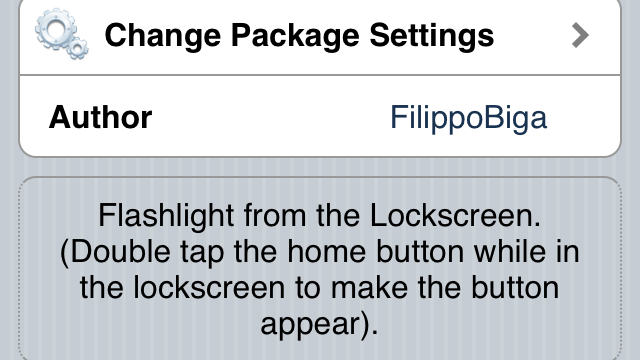 Jailbreak Only: FlashLock - Turn Flash On From The Lock Screen