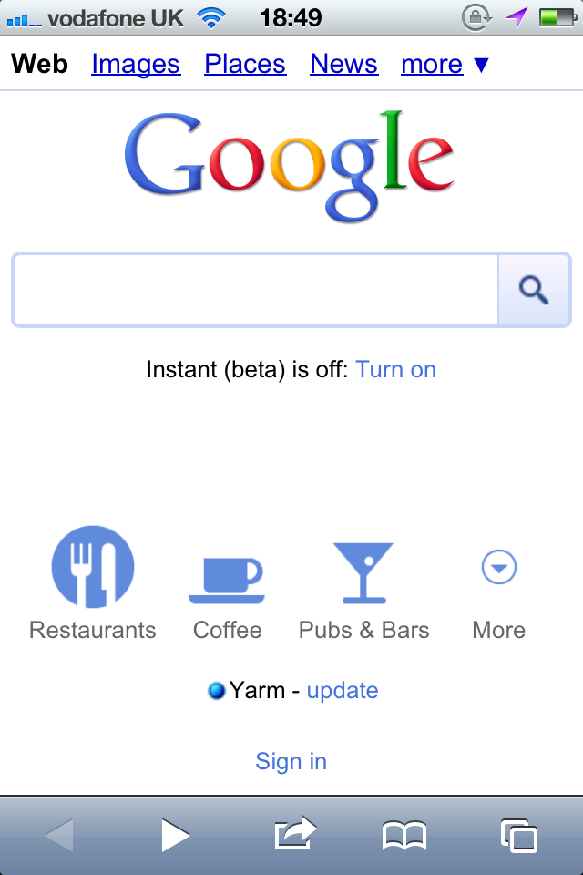 Google Just Launched Homepage Shortcuts - Easily Find Nearby Attractions In Google Mobile