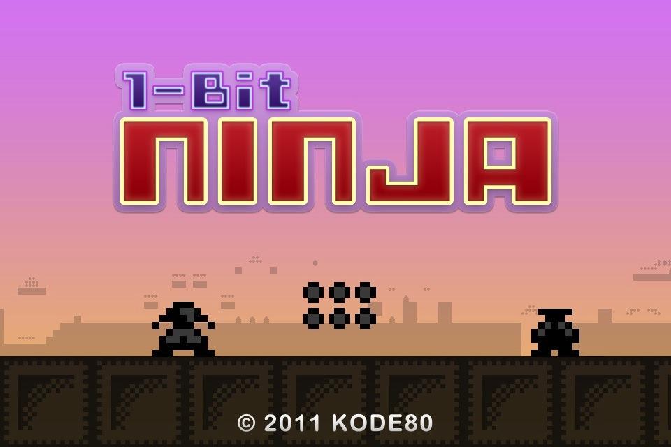Get Retro Run-N-Jump Action With 1-Bit Ninja