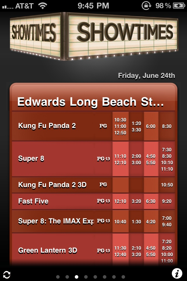Get The Latest Showings Of Summer Blockbusters With The New Showtimes App
