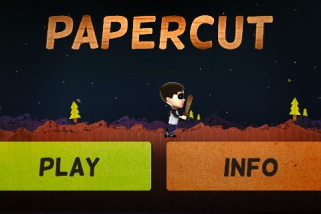 Run, Jump, And Slash Your Way Through A Cardboard World In Papercut!