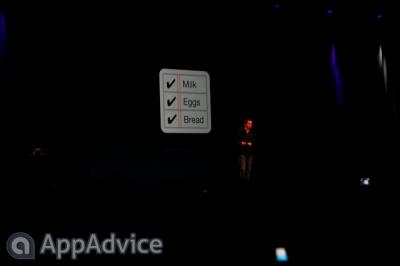 "Apple Outlines ""Reminders"" At WWDC Keynote"
