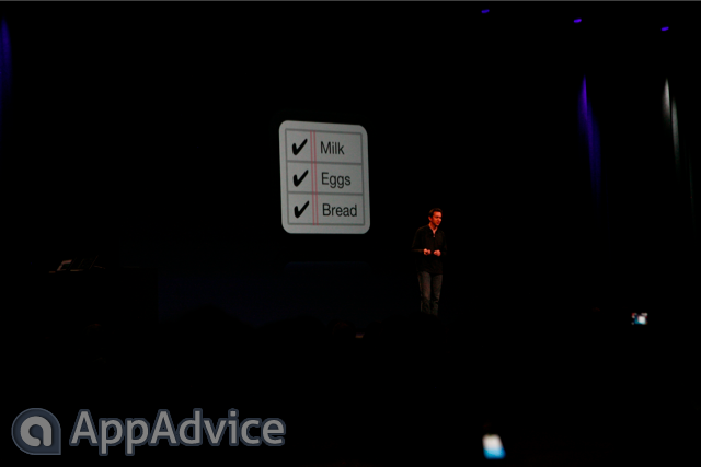 "Apple Outlines ""Reminders"" At WWDC Keynote"