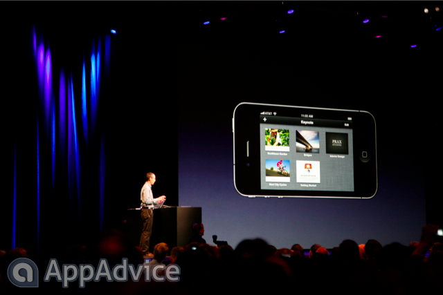 Apple's iWork Apps Will Integrate With iCloud