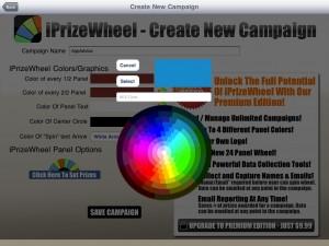 iPrizeWheel HD by NewReleaseTuesday.com screenshot
