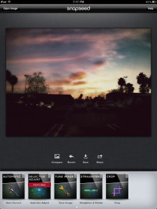 Snapseed for iPad by Nik Software, Inc. screenshot