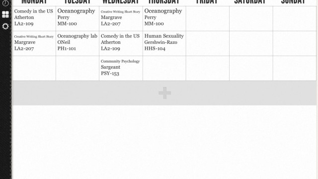 See Your Class Schedule At-A-Glance With Timetable HD 2