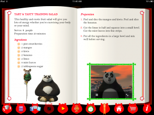 Kung Fu Panda 2 Interactive Cookbook by Castle Builders (IL) screenshot