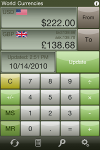 Calc Pro - The Top Mobile Calculator by Panoramic Software Inc. screenshot