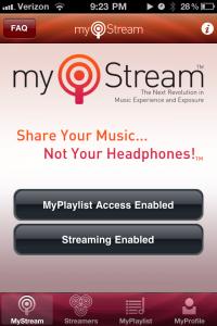 MyStream by ADEV Inc. screenshot