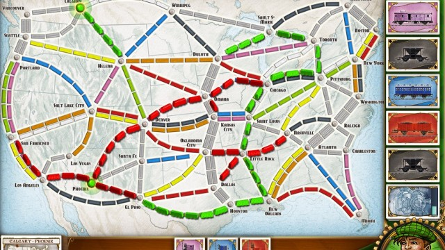 Board Game Junkies Will Not Be Disappointed With The App Version Of Ticket To Ride