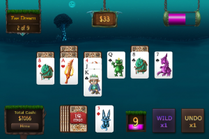Faerie Solitaire Mobile by Subsoap.com screenshot