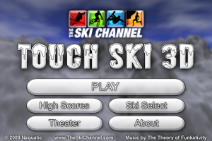The Ski Channel: Touch Ski 3D Full by Naquatic screenshot