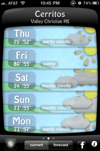Weather Doodle by Tiny Mammal screenshot