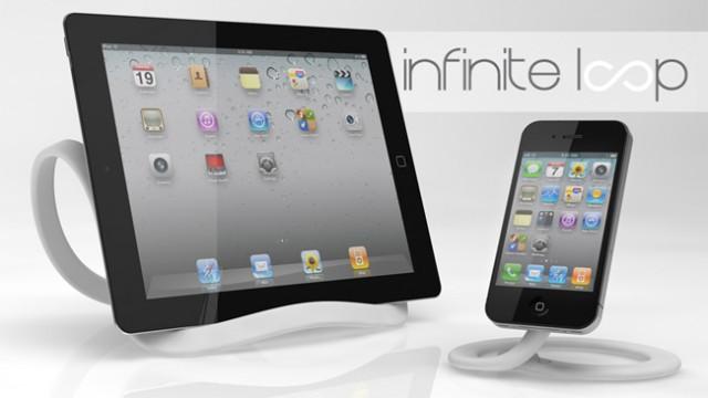 Kickstarter: InfiniteLoop - An Infinitely Re-Moulable iOS Device Holder