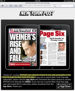 AppAdvice Daily: Fruit Ninja Update, NYPost Hates The iPad, And Free Apps!