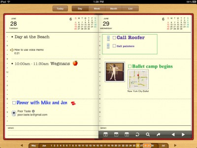 Organizer HD: It's A Digital Daytimer And A Time Waster!