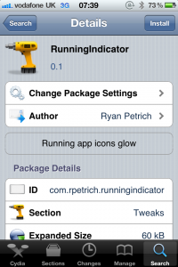 Jailbreak Only: RunningIndicator - TweakWeek Number Five Makes Running App Icons Glow!