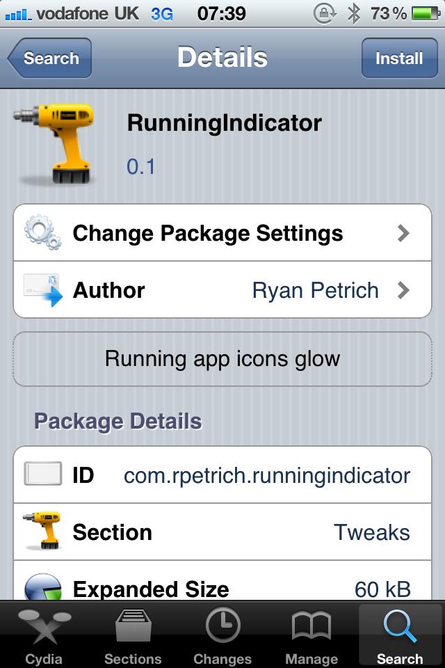Jailbreak Only: RunningIndicator - TweakWeek Number Five Makes Running App Icons Glow!