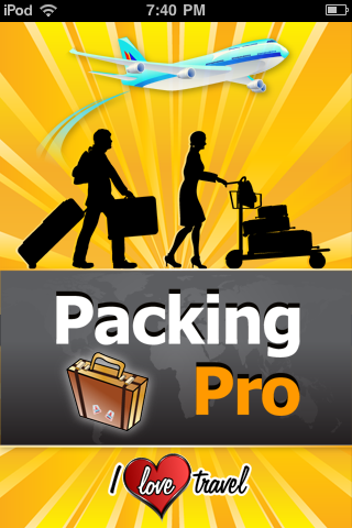 Remember To Pack Everything With Packing Pro
