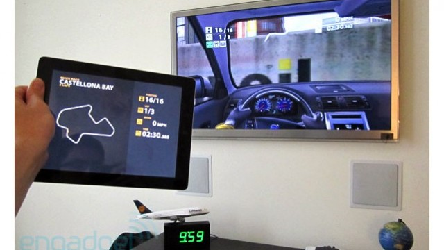 AirPlay Mirroring Gets Taken For A Test Drive - Angry Birds & Real Racing HD Demoed