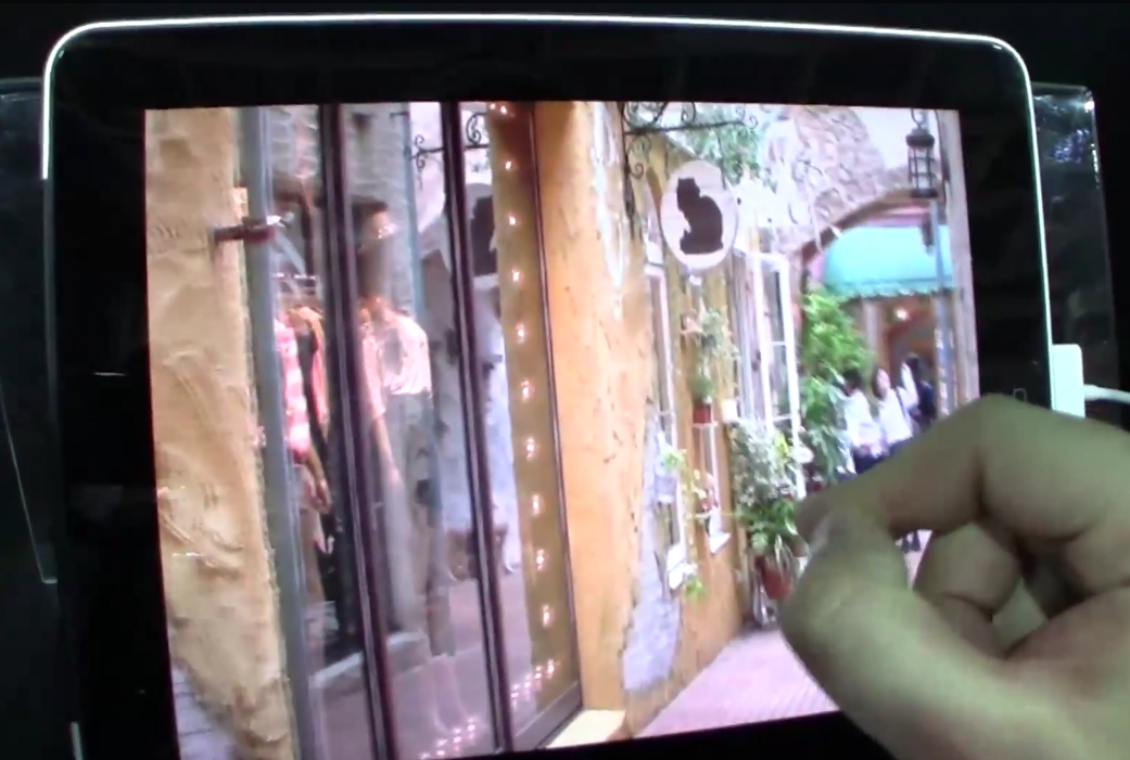 Video: First Generation iPad Equipped With Prototype 3-D Display