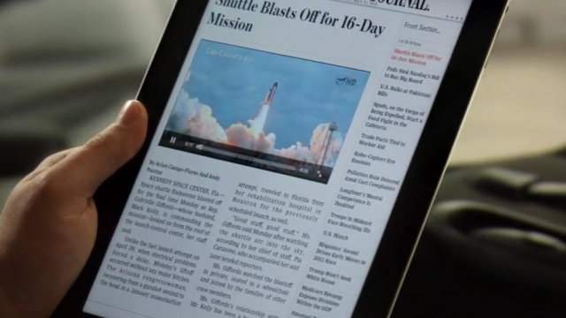 "New iPad Ad Hits The Web - ""Now"""