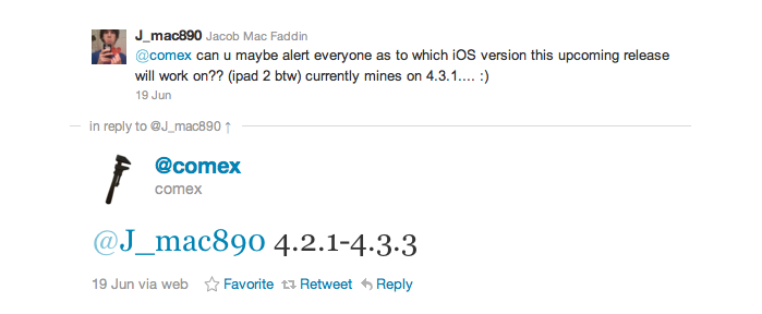 Comex Confirms: JailbreakMe 3.0 Will Be Compatible With iPad 2, iOS 4.2.1-4.3.3