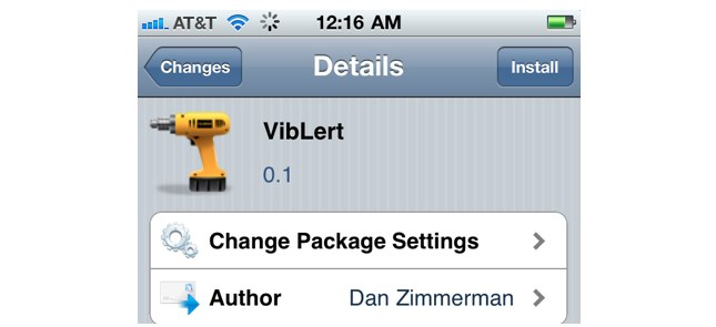 Jailbreak Only: VibLert - Enable Vibrations For All Notifications