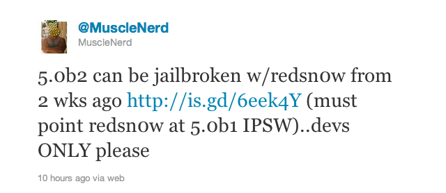 You Can Already Jailbreak iOS 5 Using Existing Tools