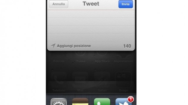 Jailbreak Only: Once iOS 5 Arrives, It Will Be Possible To Tweet From Anywhere