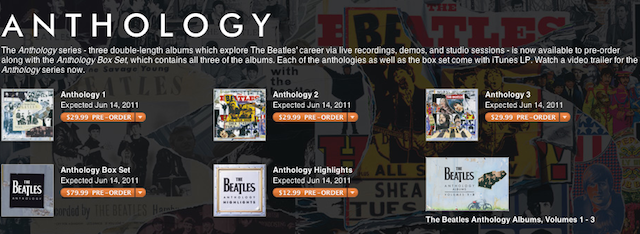 The Beatles Anthology To Hit iTunes June 14?