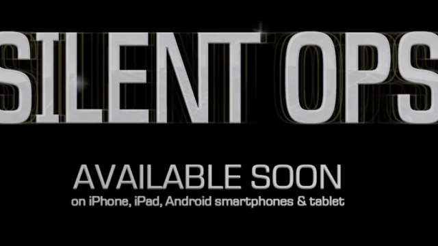 Silent Ops: An Brand New Gameloft App, Coming Soon!
